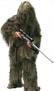 GhillieSuits Special Ops Paintball hunter suit Woodland (All Season) -Medium Hunting