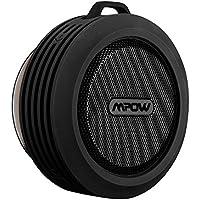 Mpow Buckler Wireless Waterproof Shower Speaker Bluetooth with Built-in Speakerphone for Shower or Outdoor Activities