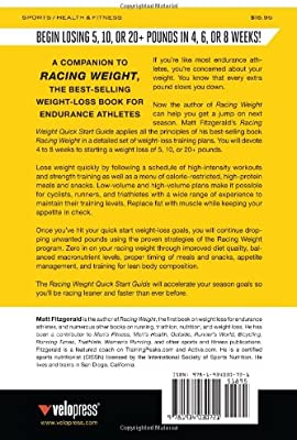 Racing Weight Quick Start Guide: A 4-Week Weight-Loss Plan