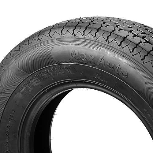 ST205/75R14 Load Range D MaxAuto Radial Trailer Tires ST205/75R-14 8Ply(Pack of 2) by MaxAuto (Image #2)