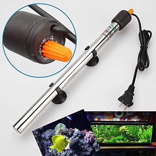 Aquarium Heaters Health Supplies Sea Fish 1 piece 500W Stainless Steel Adjustable Durable Submersible Automatic Aquarium Fish Tank Pond Water Heater Thermostat 220V-240V By gangnumsky