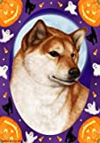 Cheap Shiba Inu Red- Tamara Burnett Halloween Howls Large Flag