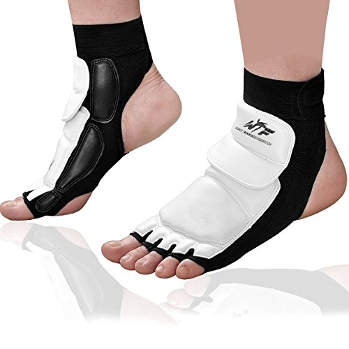Evaliana Taekwondo Foot Protector Gear Martial Arts Fight Boxing Punch Bag Sparring Training