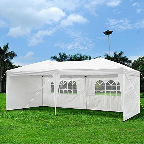 Instant Shelters With Side Walls : Yescom ft easy pop up canopy party wedding folding