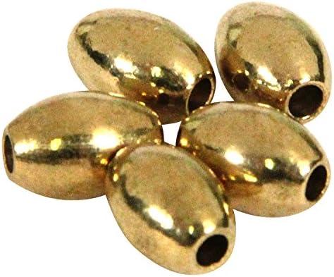 SEIWA ブラスビーズ オーバル 5×12mm 5個入