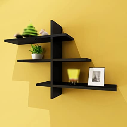 Amazon.com: Wall-Mounted Shelf/Wall-Mounted partition/Living Room TV ...