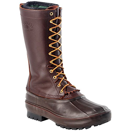 SCHNEE'S Hunter II Pac Boots 13'' Brown-6 by SCHNEE'S