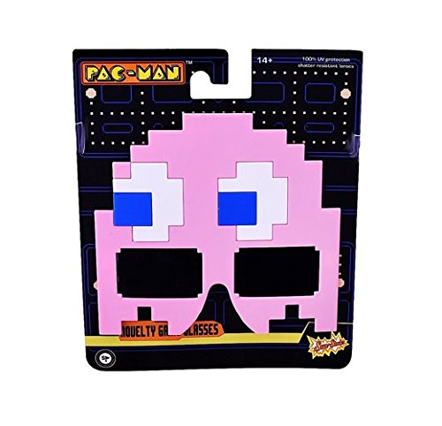 Pacman Costumes Pinky Child (Sun-Staches - Pac-Man Pinky)