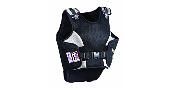 Harry Hall Hi Flex Lightweight Elasticated Ladies Body Protector Rider Safety