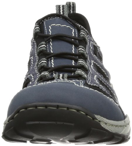 Jeans 8075 Sneakers homme Bleu Rieker Denim 14 Schwarz 1vH6qnw