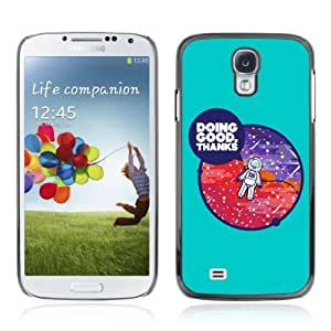 Designer Depo Hard Protection Case for Samsung Galaxy S4 / Cool Astronaut