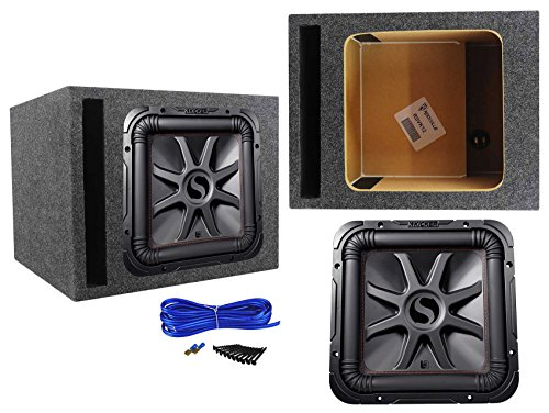 1200 Watt L7R Subwoofer, Solo-Baric+Vented Sub Box Enclosure ()