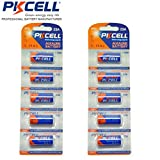 10 x PKCELL 23A A23 23AE Mn21 12V 12 Volt Alkaline Dry Cell Battery