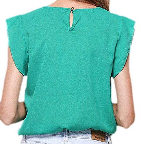 Zauberkirschen - Camisas - Opaco - para mujer Verde