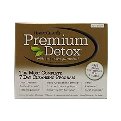 B.N.G. Herbal Clean Premium Detox 7 Day Kit