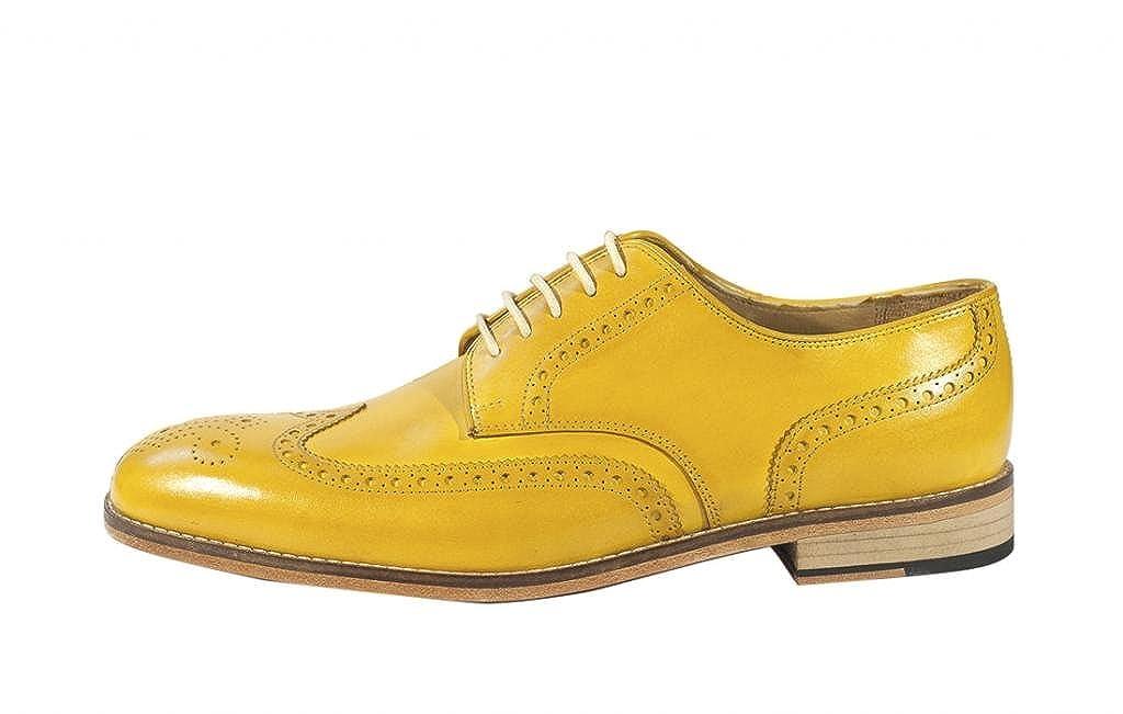 mens mustard yellow dress shoes