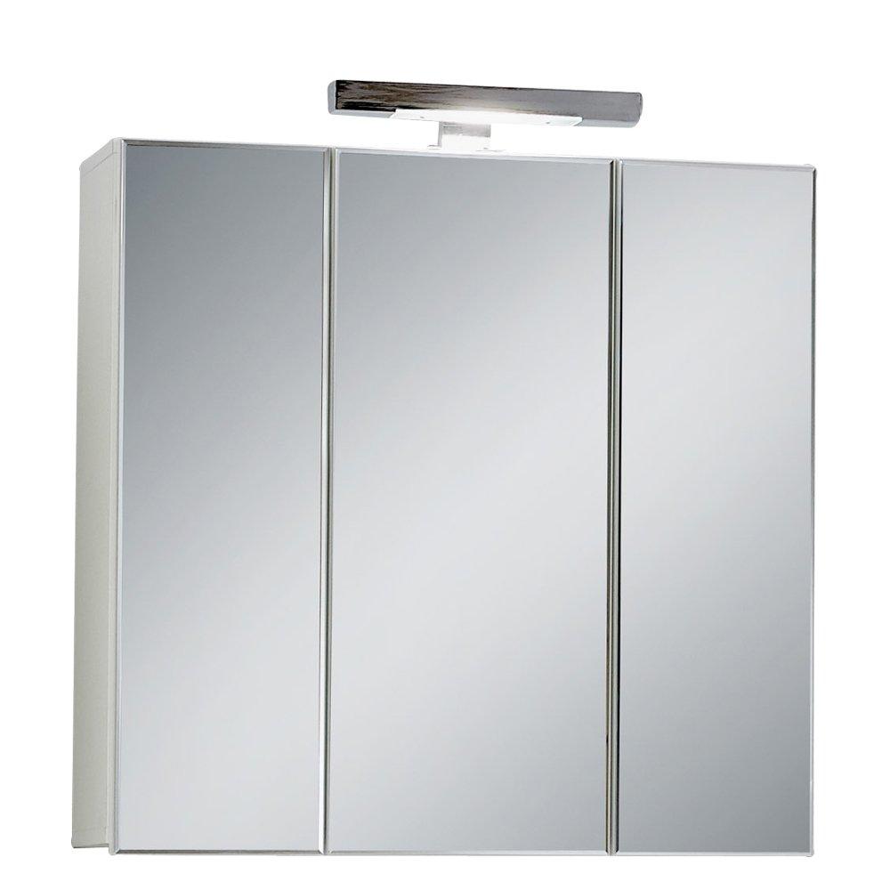 Schön FMD Möbel 925 003 Spiegelschrank Zamora 3, 70 X 69 X 19 Cm,