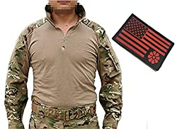 Men Tactical Series Military Combat Gen3 BDU Shirt Multicam MC