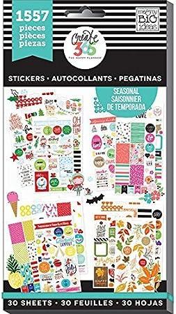Me and My Big Ideas Pack de 1829 Pegatinas para Agenda, de Create ...