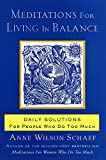 Meditations for Living In Balance: Daily