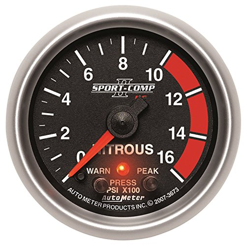 (Auto Meter 3673 Sport-Comp II PC 2-1/16