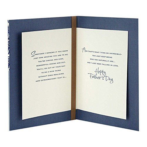 Hallmark Father's Day Greeting Card for Husband or Significant Other (I Keep Falling in Love) Photo #4