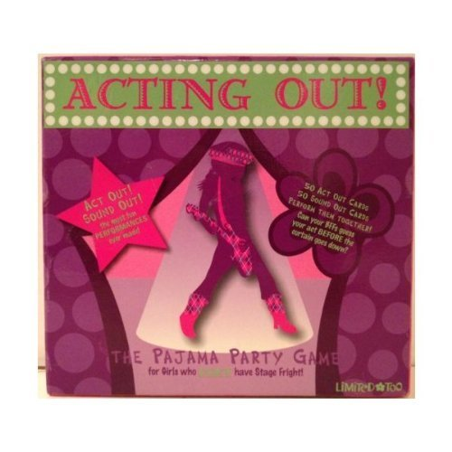Acting Out! The Pajama Party Game