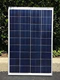 Cheap 100 Watt 12 Volt Solar Panel Off Grid for Battery Charging, RV, Boat, Very Versatile