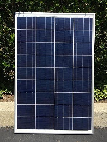 Cheap 100 Watt 12 Volt Solar Panel Off Grid for Battery Charging, RV, Boat, Very Versatile