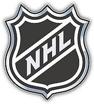 NHL Official Hockey Logo Vinyl Sticker 4 X 5 inches