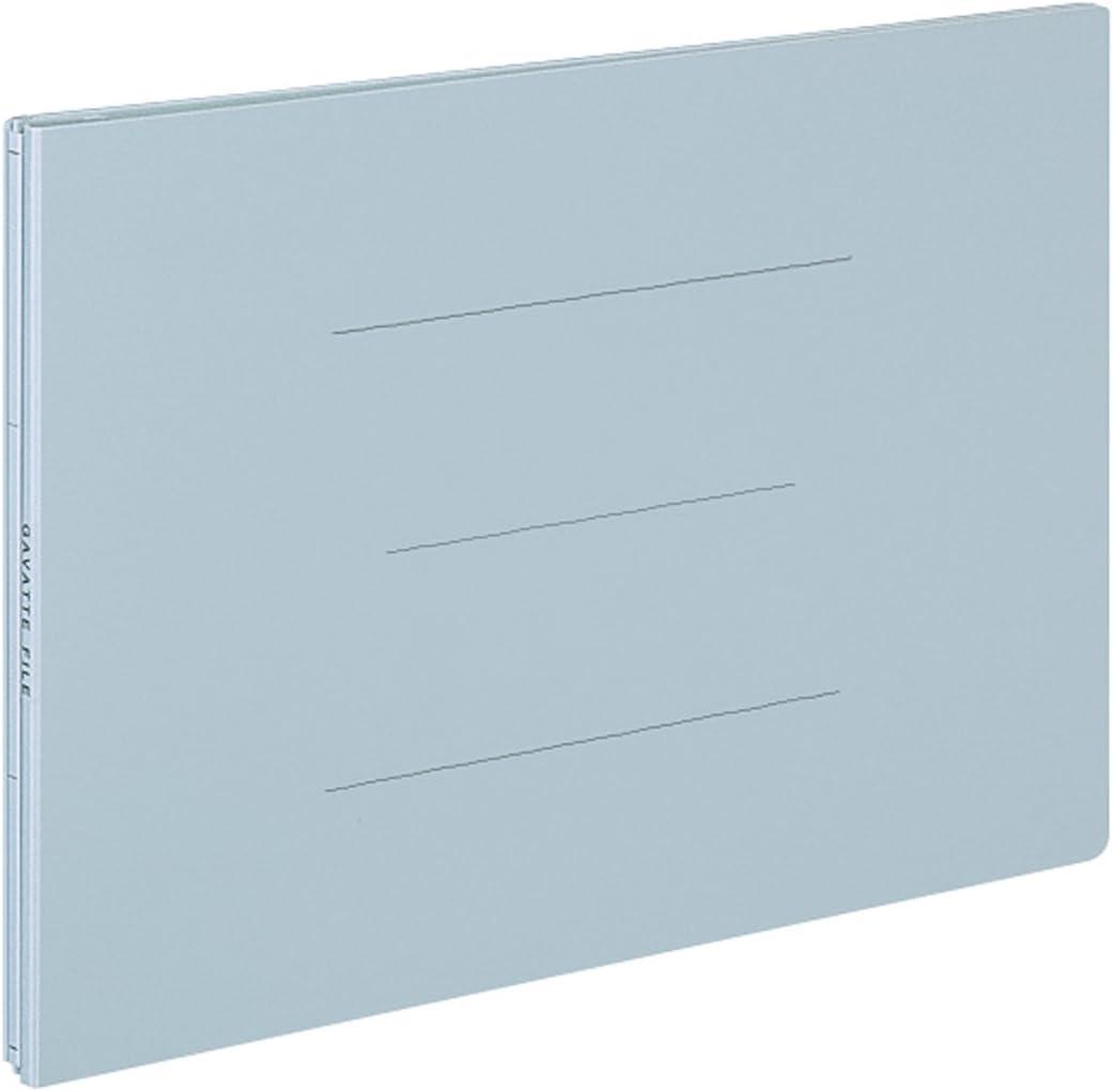 Kokuyo flat file moths bat file 2 hole A4 landscape up to 1000-sheet gray off 95M
