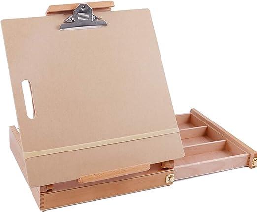 Ligera Plegable de madera maciza de caballete exquisito portable ...