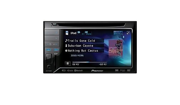 Pioneer AVH-P3200BT Bluetooth Negro receptor multimedia para coche - Radio para coche (4.0 channels, FM, 1-bit, MOSFET, 14,7 cm (5.8