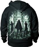 Walking Dead Michonne Zip Hoodie Sweatshirt   L