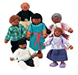 Small World Toys Ryan's Room Wooden Doll House - Family Affair (Hispanic-American Family)