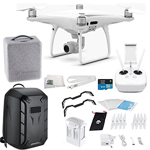 DJI Phantom 4 PRO Quadcopter Starters Hard Shell Backpack Bundle