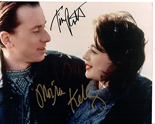 Tim Roth & Moira Kelly Signed Autographed