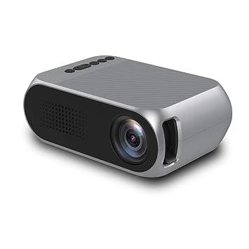 PGOTYY HD Proyector Portátil Micro LED Soporte para HD 1080P TV TV ...