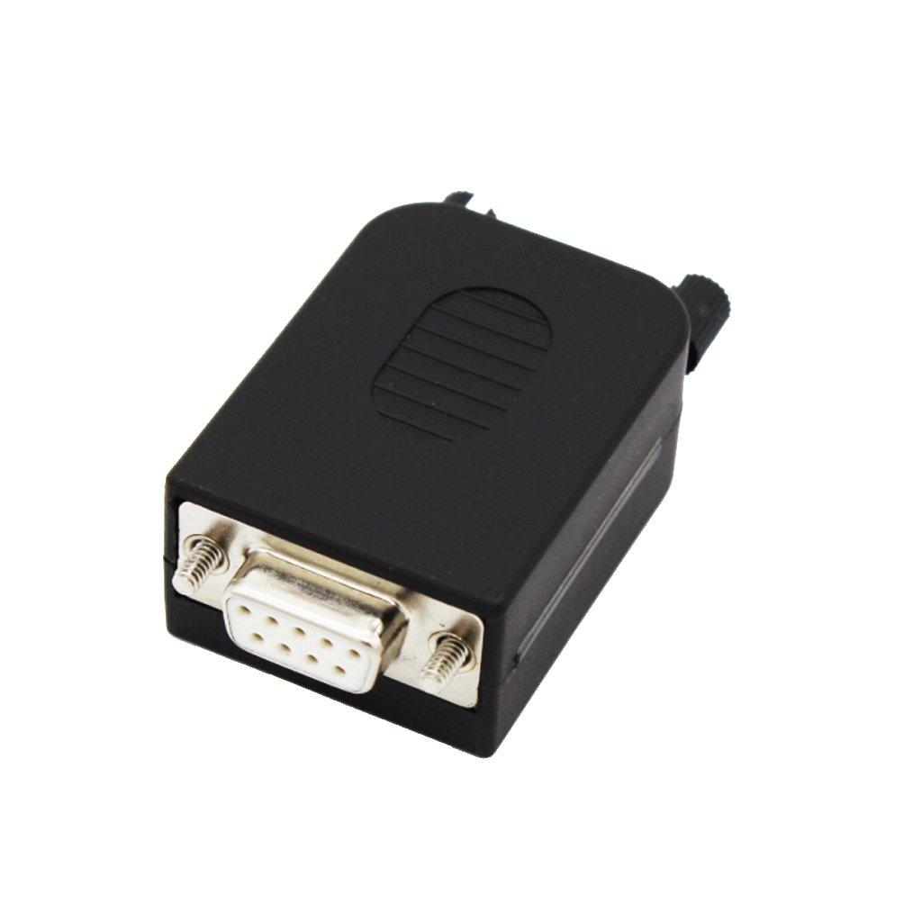 Conector Tipo DB9 Dientes Modulo Rs232-terminal Del Adaptador Hembra De 9 Pines Unbekannt STK0114013017