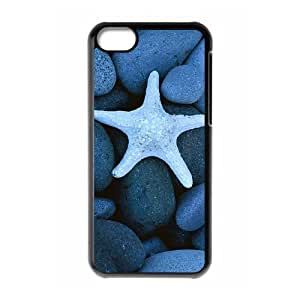 Protection Cover Hard Case Of Starfish Cell phone Case For Iphone 5C