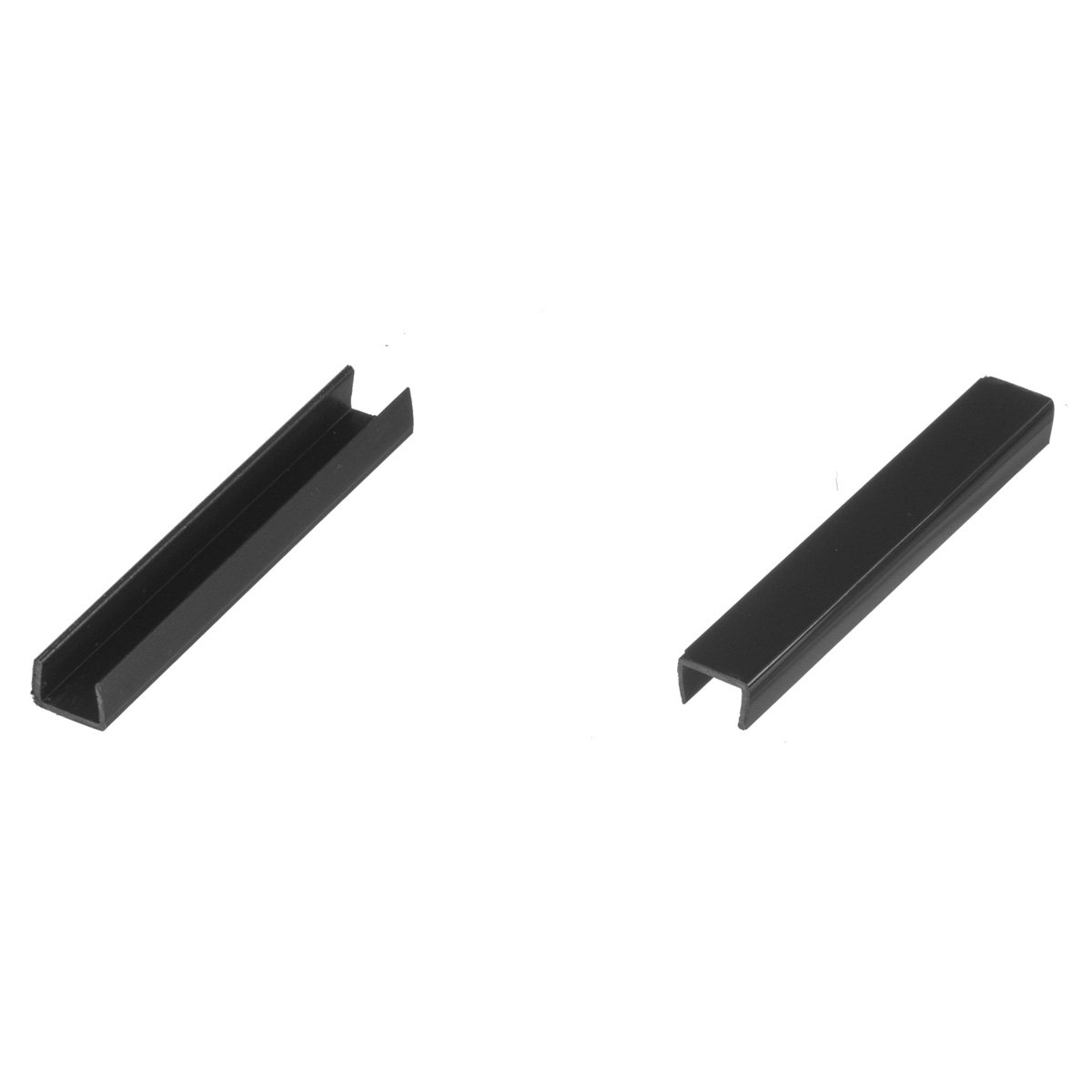 HOLZBRINK Connector for Kitchen Plinth Sealing Strips Kit Set HBK15 150 cm Kitchen Kickboard Skirting 150 mm BLACK GLOSS Base Plate