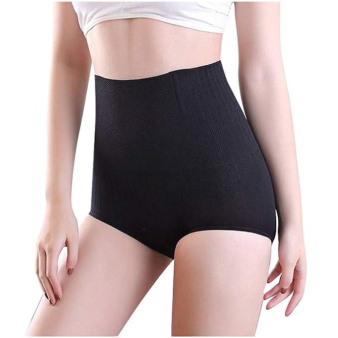 Amazon.com: Calzoncillos de mujer SHORY cintura alta ...