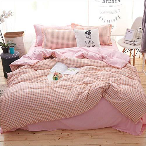 (Bedding Duvet Cover Set Bedding Sets Size Bedclothes Single Queen Double Super King L 150x200cm)