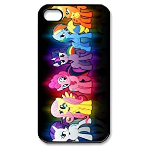 My Super Cute Little Pony Multicolor Custom Design Apple Iphone 4 4s Hard Case Cover phone Cases Covers