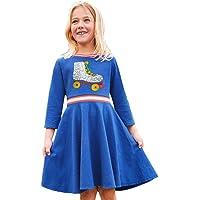 Baumwolle Langärmelig Kinder Kinder Mädchen Frühling Bling Freizeit kleidung