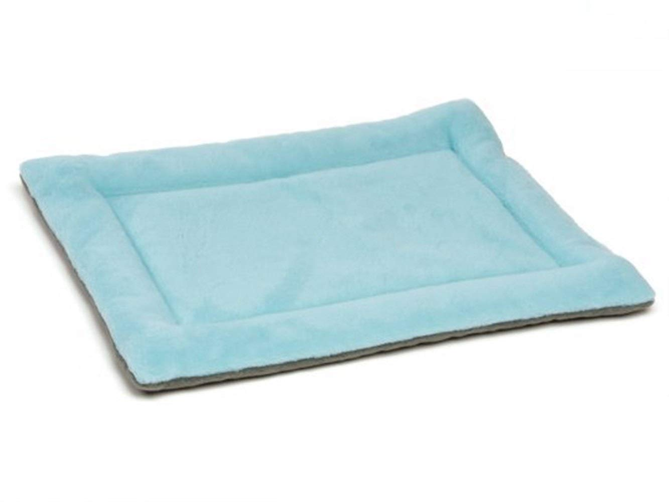bluee 72X50X2CM bluee 72X50X2CM BeTTi Size Large Dog Bed Multi-color Pet Dog Bed Padded Puppy Cat Mat Warm Pet Cushion Rectangle Cat Dog Mat Kitten Kennel Soft (color   bluee, Size   72X50X2CM)