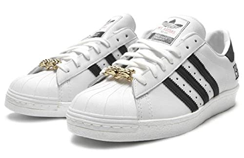 ecbcd6861fd4eb adidas Superstar 80s My Run DMC (JMJ-Jam Master Jay) 25th Anniversary (10):  Amazon.co.uk: Shoes & Bags