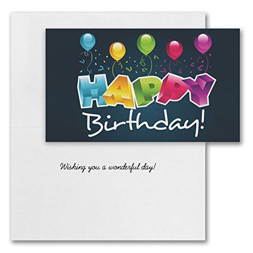 Canopy Street Festive Birthday Card Assortment Pack (Set of 50) Photo #6