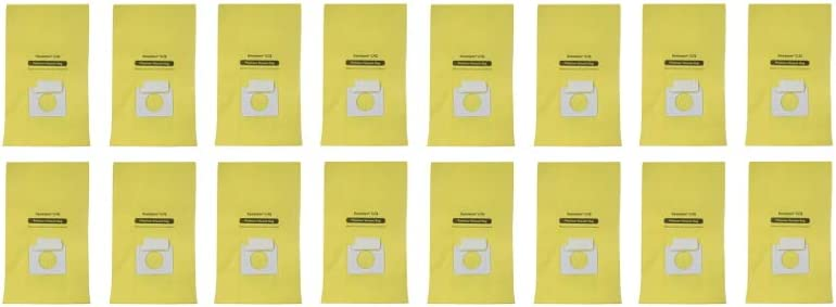 EFP Vacuum Bags fit Kenmore Canister Q C, 5055, 50555, 50557, 50558, and Panasonic Type C-5 Canister Vacuum - 16 Bags