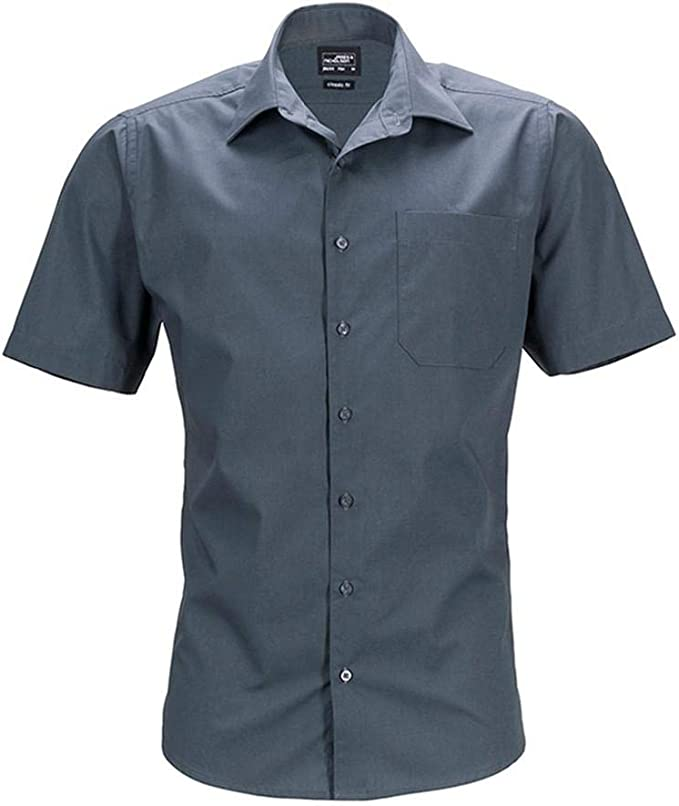 James and Nicholson - Camisa de Manga Corta Business para Hombre Caballero: Amazon.es: Ropa y accesorios